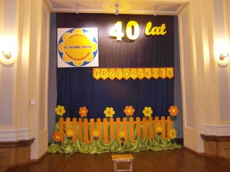 40 - lecie Przedszkola im. Juliana Tuwima w Aleksandrowie Kujawskim