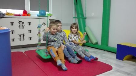 Przedszkolaki z wizytą w Stowarzyszeniu