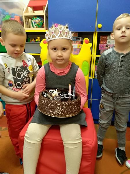 Przedszkolne urodziny