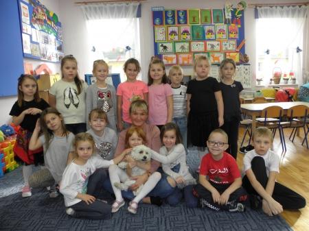 Nasi domowi ulubieńcy zawitali do przedszkola.