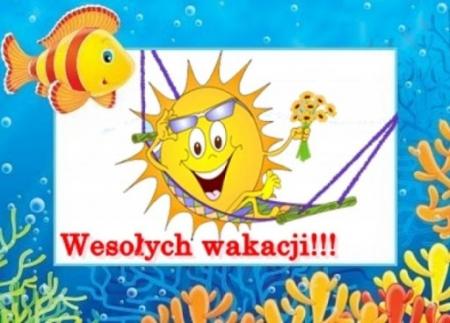 Wesołych wakacji!!!